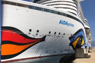 Von Korfu nach Mallorca - Mittelmeer-Kreuzfahrt mit der AIDA